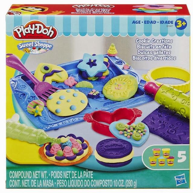 Sản phẩm Bột nặn Khay bánh ngọt ngào Play-Doh B0307 Sweet Shoppe Cookie Creations