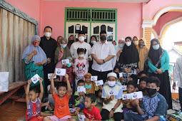 Keluarga Korban Kecelakaan Kerja Teknisi PLN Terima Santunan Dari Gubernur Bengkulu
