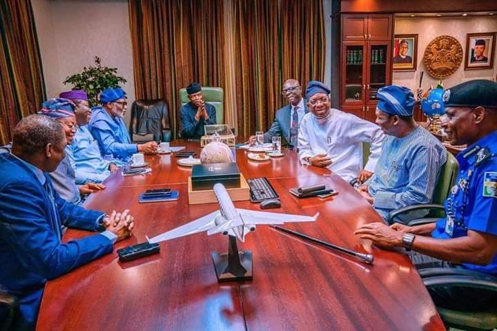 FG,Southwest Governors Agree On Amotekun