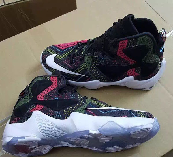 3 New LeBron 13s Including BHM Leaked in Kids Sizes