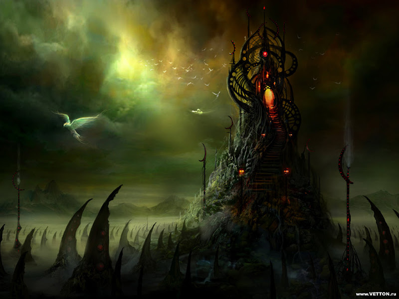 Magick Landscape Of Nightmare 5, Magical Landscapes 3