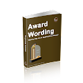 Award Wording