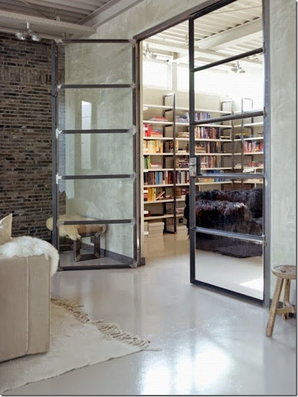 case e interni - loft country chic-industriale]