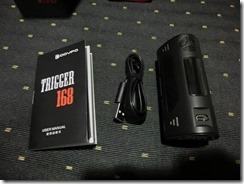 CIMG0317 thumb - 【MOD】DOVPO TRIGGER168W BOX MOD(ドヴポトリッガー168W)レビュー! 最大出力168Wというハイパワーマシン!【BOX MOD/ハイパワー/温度管理】