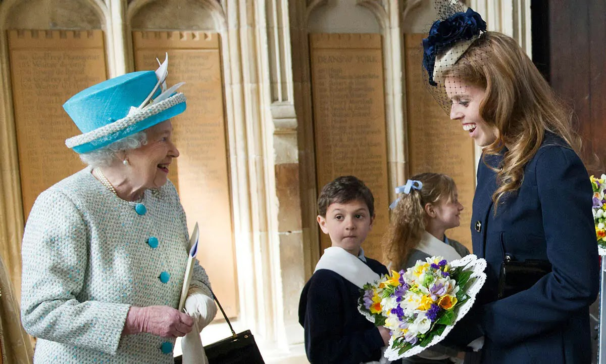 The Queen reveals delight at the arrival of Princess Beatrice's Baby Girl