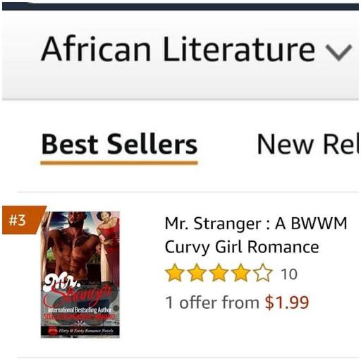 *•.¸🔥🔥🔥🔥Mr. Stranger was Amazon #3 Best Seller!!!🔥🔥🔥¸.•*´