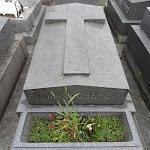 Cimetière de Belleville : tombe COCHEREAU Pierre (1924-1984) (Div.17), organiste de Notre-Dame de Paris