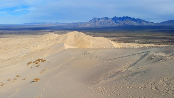 Kelso Dunes and Providence Mountains