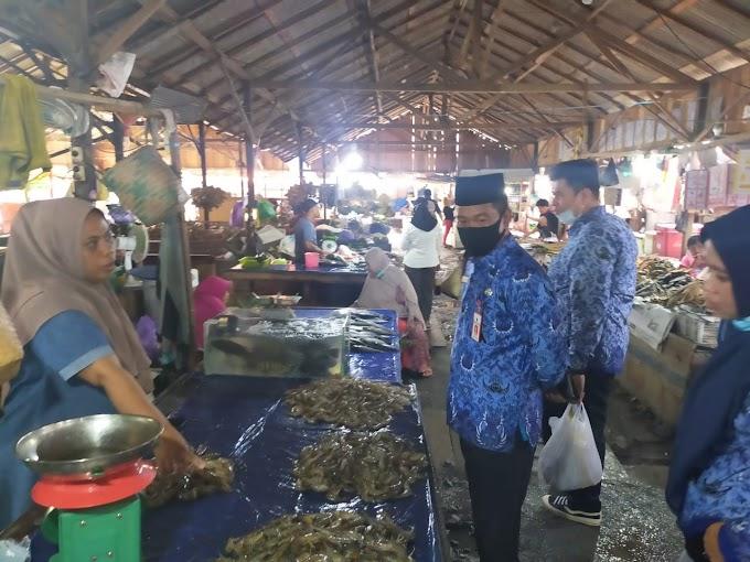 Hadapi Natal dan Tahun Baru Kondisi Pasar di Tanah Bumbu Stabil