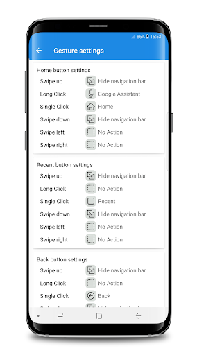 S9 Navigation bar PRO (No Root) for PC