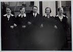 ca. 1936 Angestellte Fa. J. D. Davidsohn Osterholz-Scharmbeck (v. Melitta Mahnken)