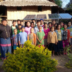 TBF Solar trip with Solbakken to Maw Kwee School - February 2015