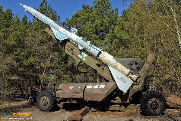mobilna wyrzutnia rakiet w Rąbce