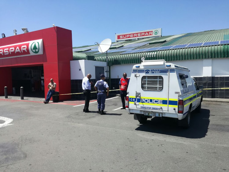 An FNB ATM at Superspar in Vincent was robbed in the early hours of this morning.