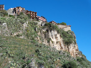 Photo: Extreme property development at Castelmole