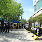 Michelin sponsorizza l'evento ed espone la gamma pneumatici moto