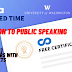 Introduction to Public Speaking, week(1-5) All Quiz Answers with Assignments.