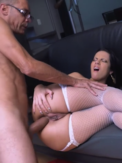 Analine – Ramon's Monster Cock in My Pussy and My Ass
