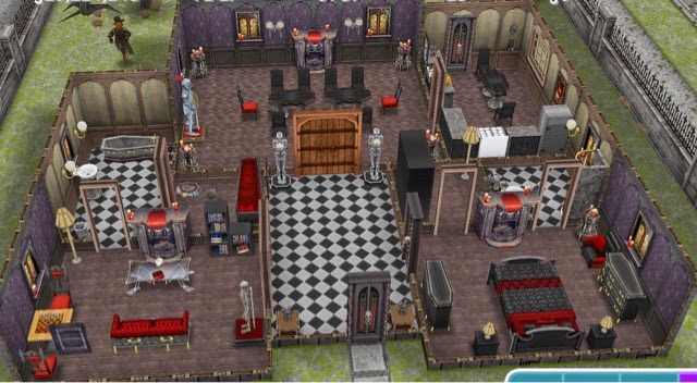 Astounding Sims Freeplay Haunted Mansion Prebuilt Houses Greenoid Download Free Architecture Designs Viewormadebymaigaardcom