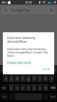 Cara Aktifkan Dan Non Aktifkan Data Latar Belakang Google Play Store Widod Bootloop