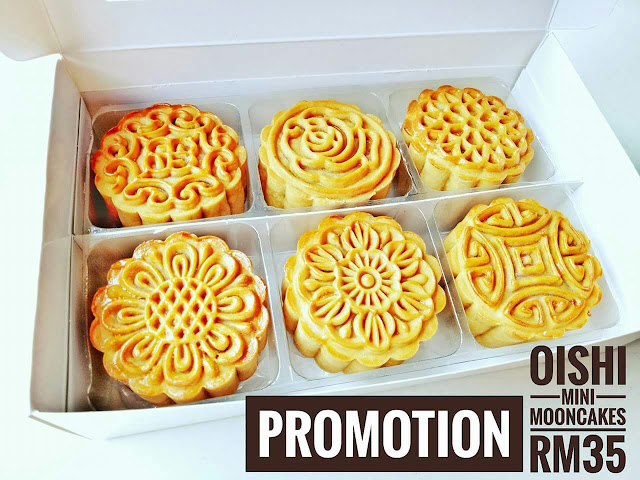 Oishi Mini Mooncakes