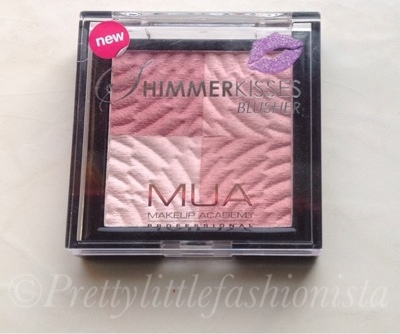 A picture of MUA's shimmer kisses blush
