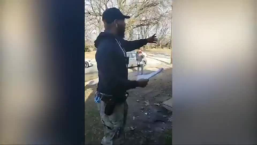 Fake security guards and deputy sheriff's try to unlawfully evict family