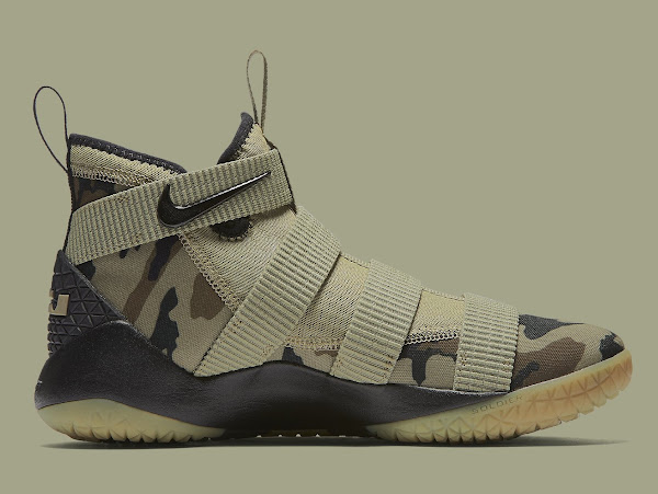 Nike Adds the Mandatory Camo Look to the LeBron Soldier XI