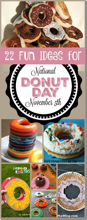 National Donut Day is November 5th. Love all these fun, creative national donut day crafts, activities, donut day lunch ideas, and donut crafts for kids to make it a special memorable day for kids from toddler, preschool, kindergarten, 1st grade, 2nd grade, and 3rd grade. (kids activities)
