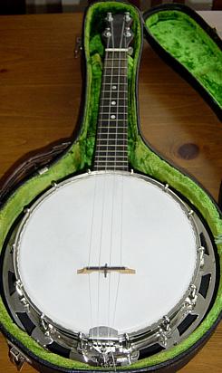 Hawkes branded Abbott Banjolele Banjo Ukulele circa 1927