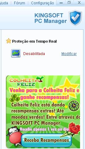 colheita feliz - kingsoft pc manager