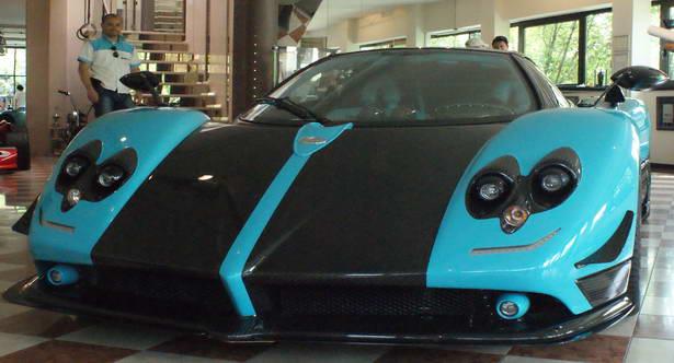Italian car Zonda