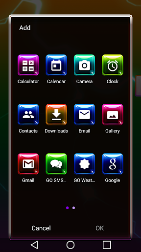 Colorful 3D for Next Launcher image | 4