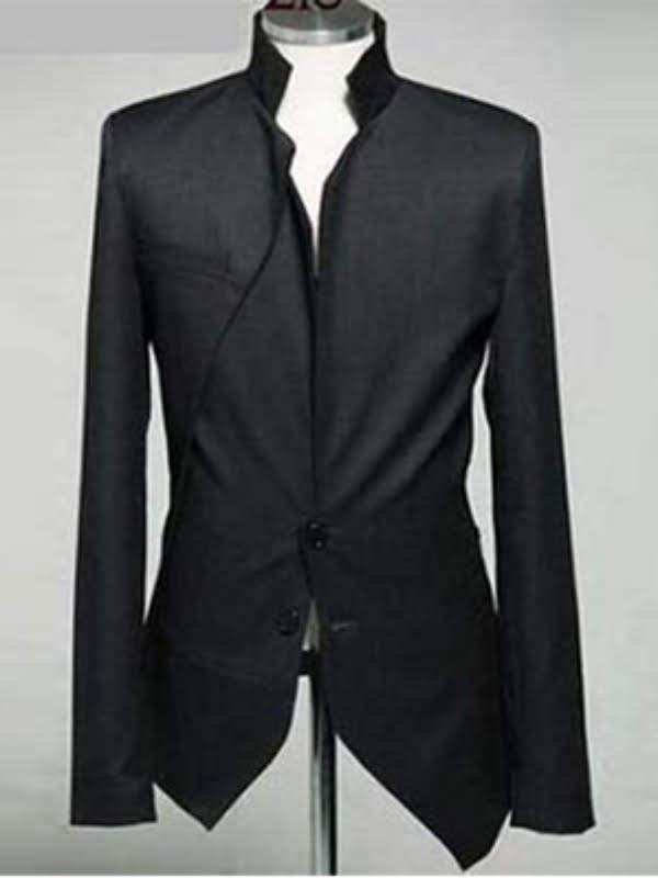 bisnis clothing sk11 blazer hitam istimewa jas korean style manekin1