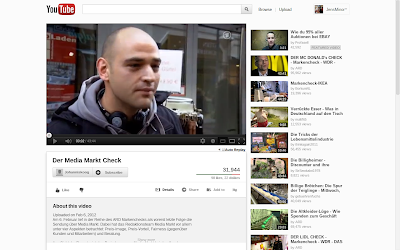 YouTube Design Test Neu