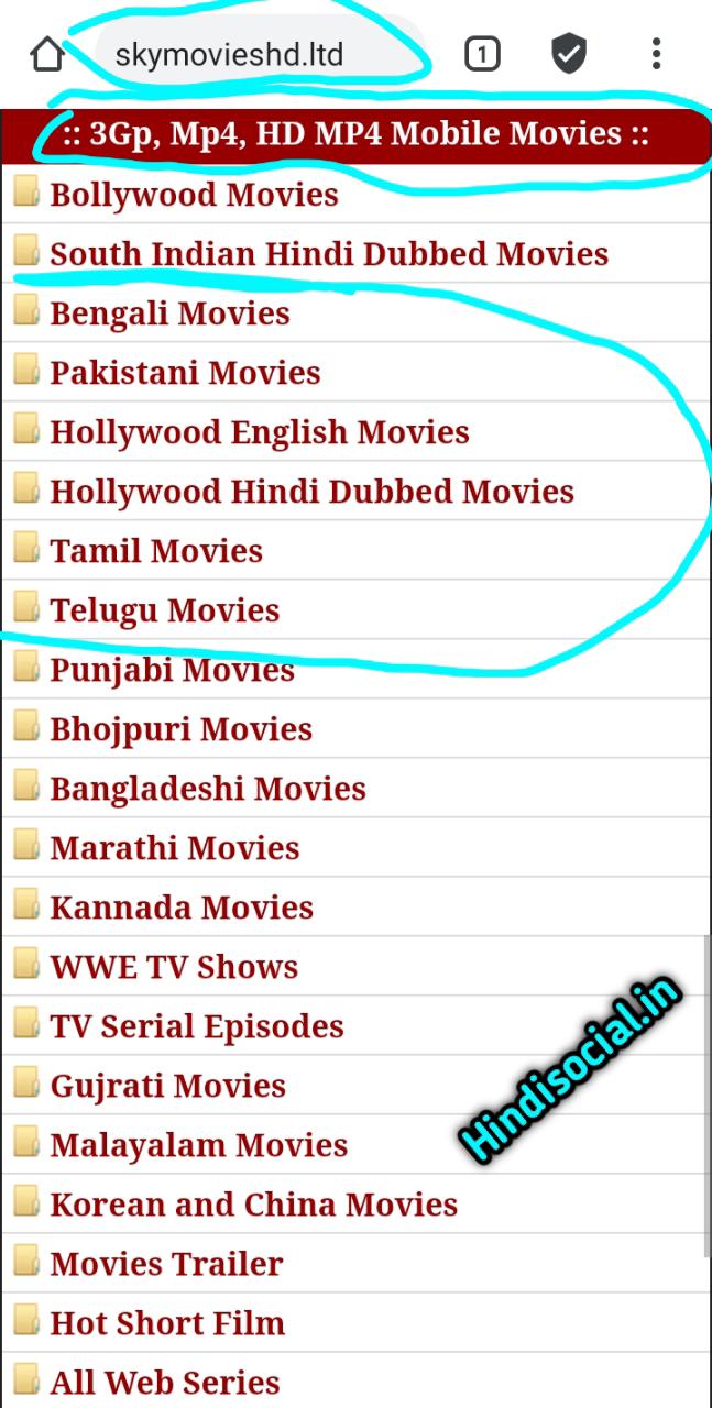 Bollywood Hollywood movie download in Hindi:-