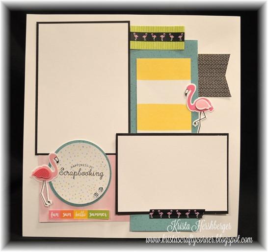 2016-5 SE2 make n take - tickled pink, calypso flamingo layout DSC_1500