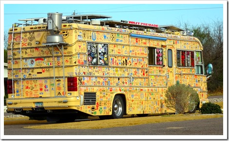 The Sticker Bus