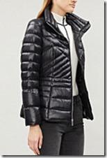 Karen Millen quilted down puffer jacket