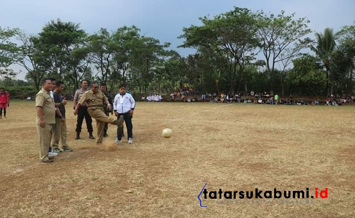 Marwan Hamami Kickoff Final Turnamen Sepakbola Kecamatan Kebonpedes