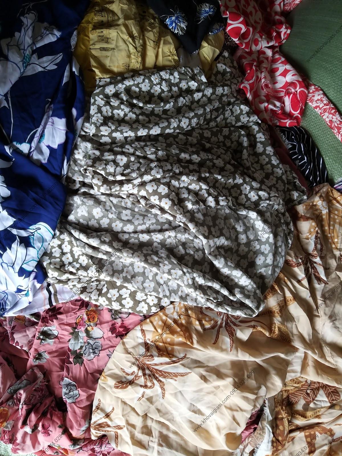 Vải Voan Bông Thời Trang