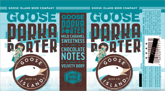 Image result for Goose Island Parka Porter Brews