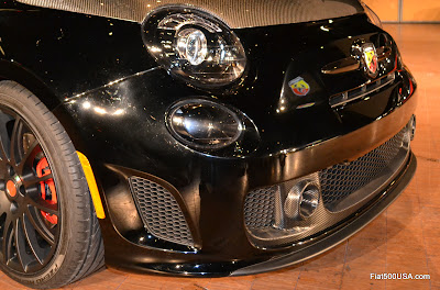 Fiat 500 Abarth Venom lower grill