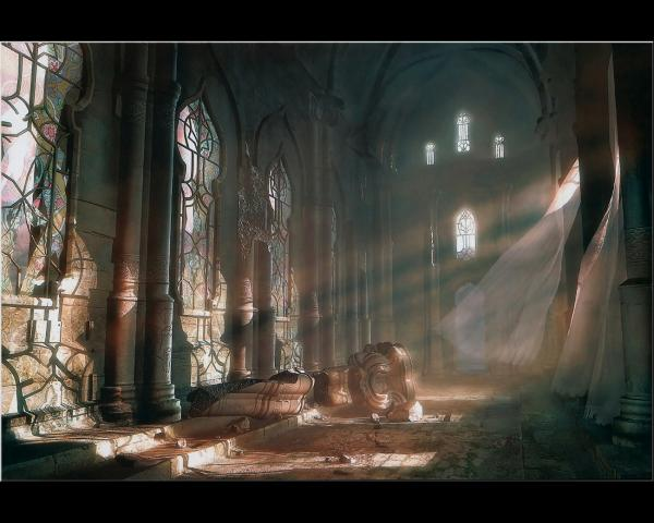 Light In The Deserted Hall, Magical Landscapes 1
