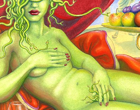 Gal Medusa Pictures Medusa In Modesty, Green Witches