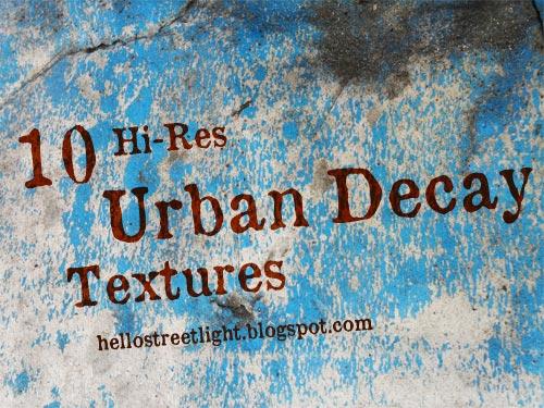 Free Hi-Res Urban Decay Textures