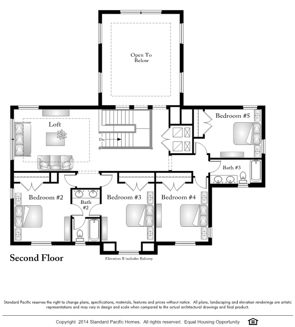 Standard pacific homes floor plans for Pacific image home designs ltd