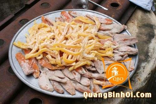 Khoai deo Quảng Bình