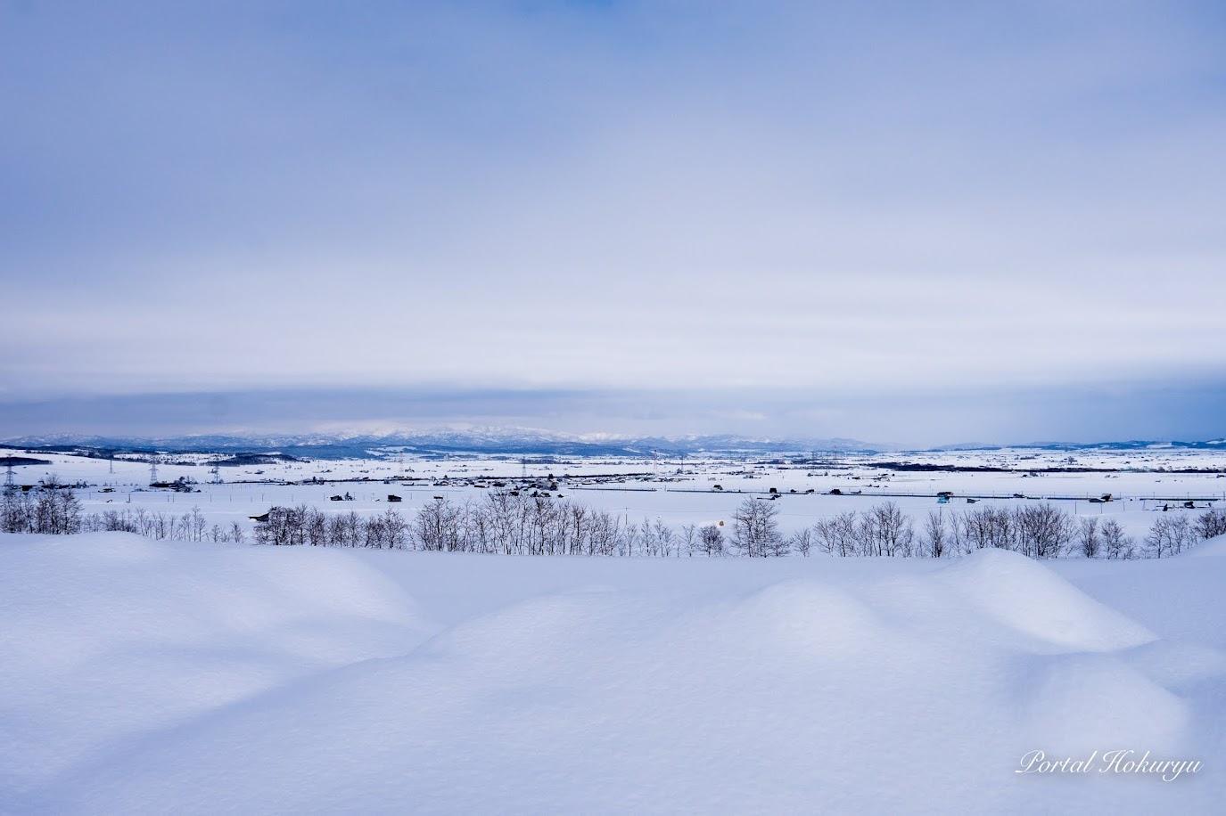 マシュマロのようなふんわり柔らかな雪