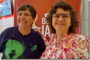 Juçara Figueiredo e Aninha Costa